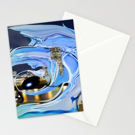 Face of the City Stationery Cards