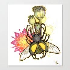 Rhino Beetle Canvas Print