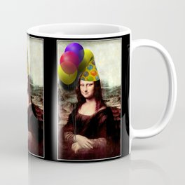 Mona Lisa Birthday Girl Coffee Mug
