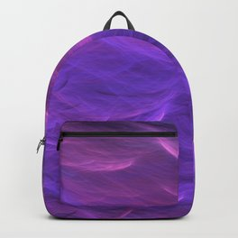 Pink and Purple Ultra Violet Soft Waves Backpack