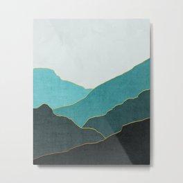 Minimal Landscape 04 Metal Print