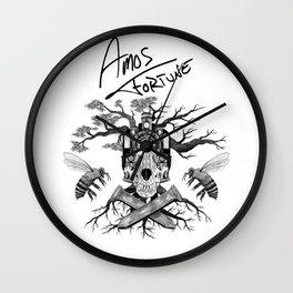 Layers of Amos Fortune Wall Clock