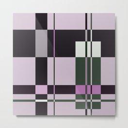Interesting Geometry - Pale, pastel artwork Metal Print