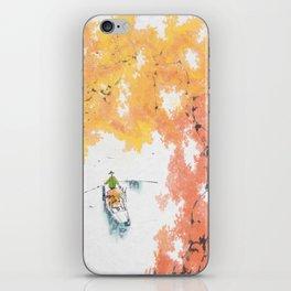 Autumn Drifting iPhone Skin