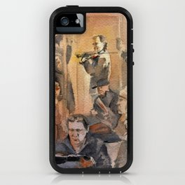 The Inattentive Audience iPhone Case