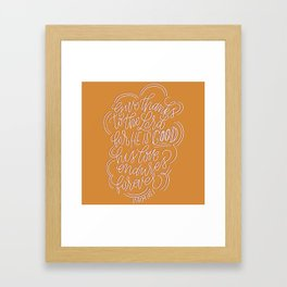 Give Thanks to the Lord Framed Art Print