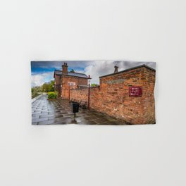 Hadlow Victorian Railway Station Hand & Bath Towel