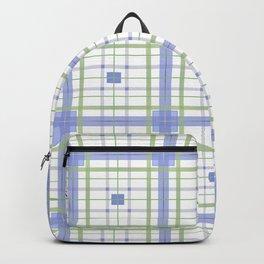 AFE Tartan Pattern Backpack