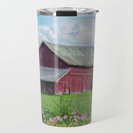 The Red Barn Travel Mug