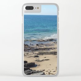 Newport Tides Clear iPhone Case