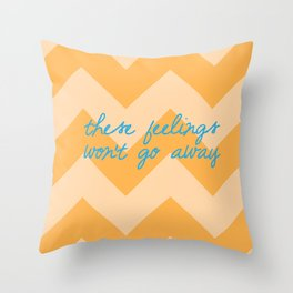 Sideways Throw Pillow