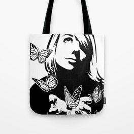 Lili + The Butterflies Tote Bag