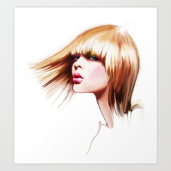 hairdress Art Print