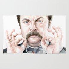 Swanson Mustache Rug
