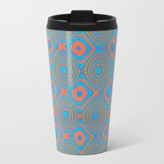 Color patches Metal Travel Mug