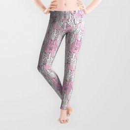 Give me a hug (pink pattern) Leggings