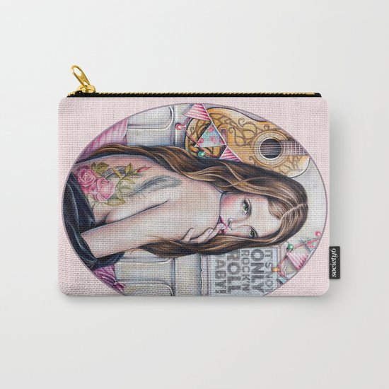 It's not only rock'n'roll baby Carry-All Pouch
