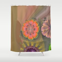 Aetiogenic Actuality Flower  ID:16165-013140-25800 Shower Curtain
