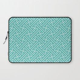Lattice - Turquoise Laptop Sleeve