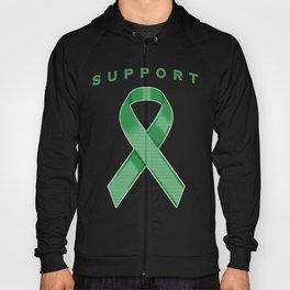 Green Awareness Ribbon Hoody
