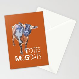 """Totes McGoats!"" ~ Nigerian Dwarf Goat Pop Art Photography!  Gotta Love the Goaty-Woaties! Stationery Cards"