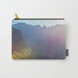 Arousal of Shadows (Zion National Park, Utah) Carry-All Pouch