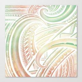 Opaque Polynesian Canvas Print