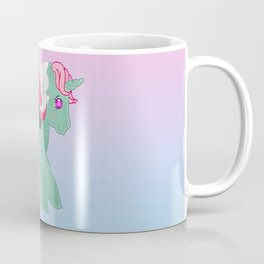 g1 my little pony stylized Fizzy Coffee Mug