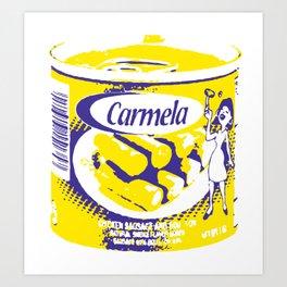 Salchichas Carmela Art Print