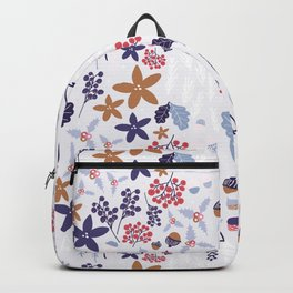 Winter Holiday Pattern Backpack