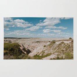 Red Shirt Table - Badlands National Park Rug