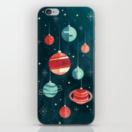 Joy to the Universe (in Teal) iPhone Skin