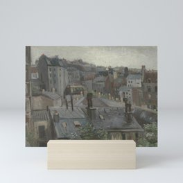 View from Vincent's Studio Mini Art Print