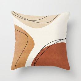 ABSTRACT ART 1V Throw Pillow