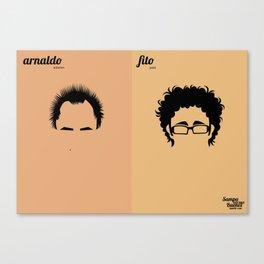 Arnaldo x Fito Canvas Print