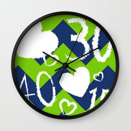 LoveTennis Wall Clock