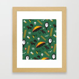 The Usual Suspects (Patterns Please) Framed Art Print
