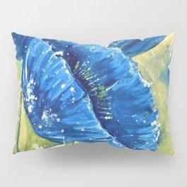 Fleur Bleu Pillow Sham