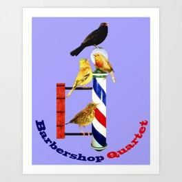Barbershop Quartet - Most Products Art Print