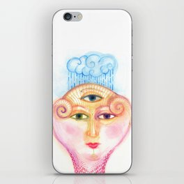 daemon of complicated times iPhone Skin