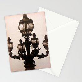 Parisian Streetlight Stationery Cards