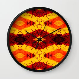 Graffitti - Infinity Series 003 Wall Clock