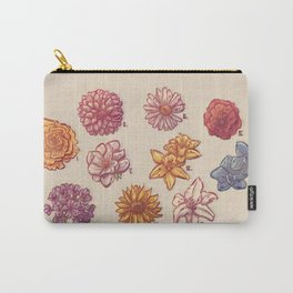 10 Flowers Carry-All Pouch