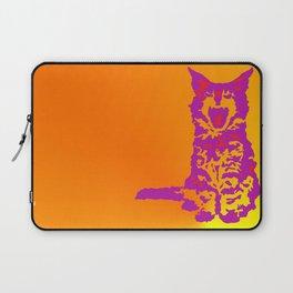 Screaming Kitten (Gradient) Laptop Sleeve