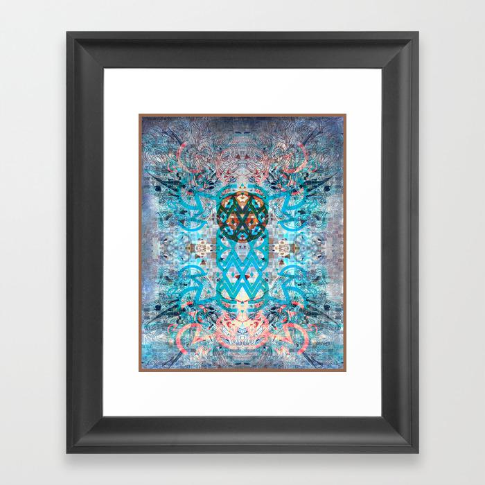 Vibrations Framed Art Print by Rotatingvoodoo FRM947099