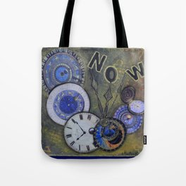 The Time is Always Now (or 11:11) Tote Bag
