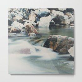 a mountain river ... Metal Print