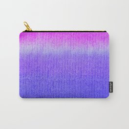 Purple Watercolor Blend Carry-All Pouch