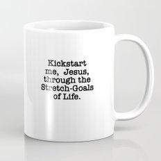 Kickstart me, Jesus! Mug