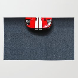Classic Ford GT40 Rug